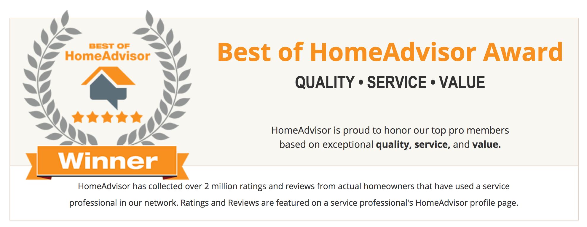Best Of Homeadvisor 2017 Award Winner Jersey Steamer Cleaning Service
